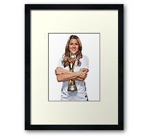 Kelley O'Hara - World Cup Framed Print