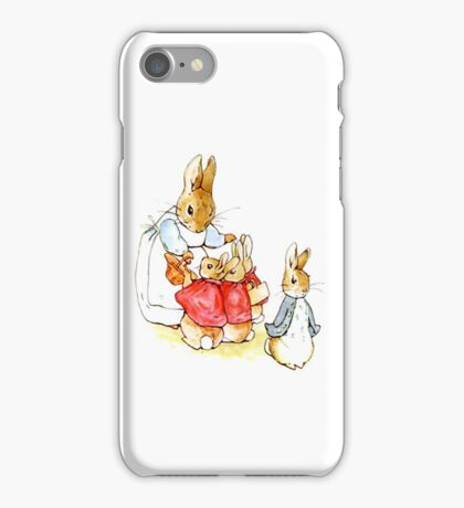 Peter Rabbit and Family iPhone Case/Skin