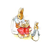 Peter Rabbit and Family by Bundjum
