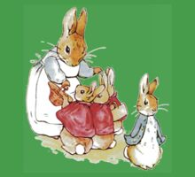 Peter Rabbit and Family Baby Tee