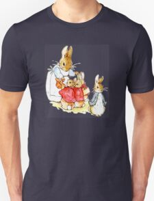Peter Rabbit and Family Unisex T-Shirt