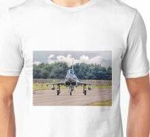 Typhoon taxying in ahead of the storm Unisex T-Shirt