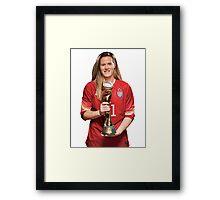 Alyssa Naeher - World Cup Framed Print