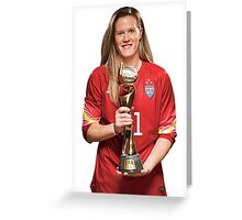 Alyssa Naeher - World Cup Greeting Card