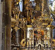 Mass in Cathedral of Santiago de Compostela by Stephen Frost