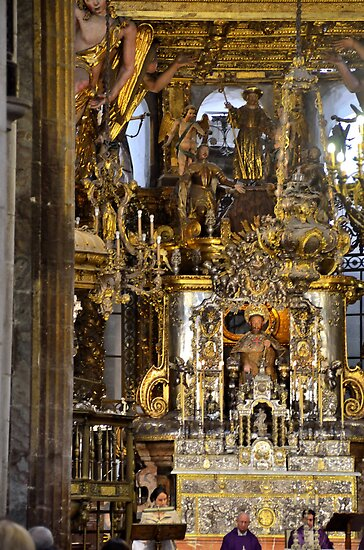 Mass in Cathedral of Santiago de Compostela by Steve