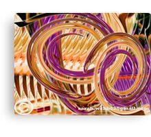 Twirling Poker Canvas Print