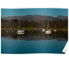 Lake Windermere Yachts Poster