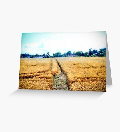 A short cut home Greeting Card