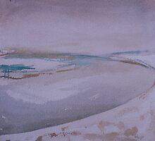 Haväng - the pond by Catrin Stahl-Szarka