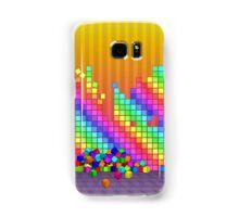 Fallen cubes 3D graphics design Samsung Galaxy Case/Skin