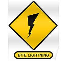 Bite Lightning Poster