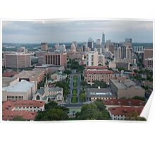 Austin TX Skyline Poster