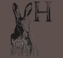 H is for Hare Baby Tee