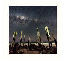 Port Willunga Stars Art Print
