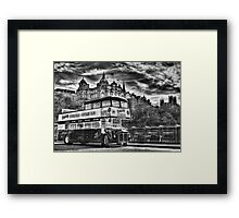 Edinburgh Tours Framed Print
