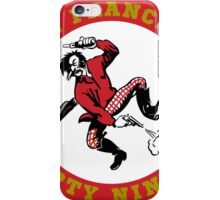 San Fransisco 49ers logo 2 iPhone Case/Skin