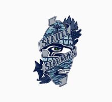 Seattle Seahawks logo 4 Unisex T-Shirt