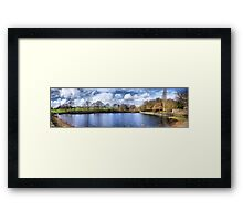 Chellow Dene ~ Panoramic HDR ~ Framed Print