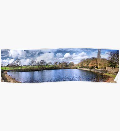 Chellow Dene ~ Panoramic HDR ~ Poster