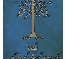 The Lord of The Rings (Elvish) by StarHider