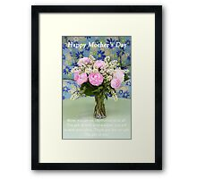 The Gift Of You, Mom Framed Print