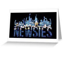 Newsies - Fists Greeting Card