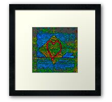 Heart of Ai Wei Wei Framed Print