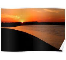 Sunset Point Poster