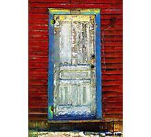 Door to the Past Photographic Print