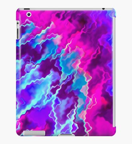 Stormy Pink Purple and Teal  iPad Case/Skin