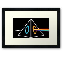 Dark Side of the M00n Framed Print