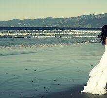 Wedding on Venice Beach by ondine