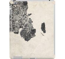 Copenhagen map iPad Case/Skin