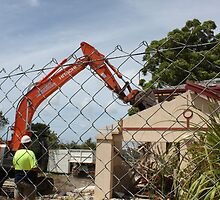 Domestic Demolition by DoorsAndNumbers
