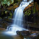 The Ledge - Terrace Falls  by Mark  Lucey