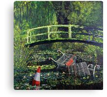 Waterlilies - Nature in the Future Canvas Print