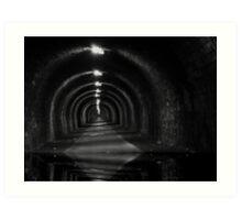 Tunnel-wather Art Print