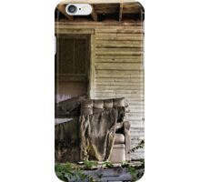 Front Porch Chair iPhone Case/Skin