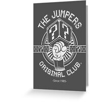 THE JUMPERS ORIGINAL CLUB Greeting Card