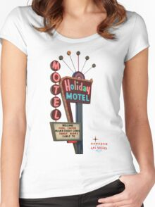 Motel Vegas Women's Fitted Scoop T-Shirt