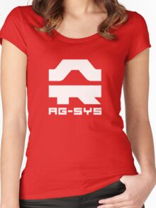 Wipeout Pulse - AG-System Logo Women's Fitted Scoop T-Shirt