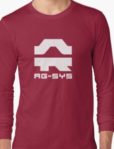 Wipeout Pulse - AG-System Logo Long Sleeve T-Shirt