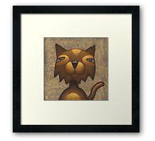Mister Cool Cat Framed Print