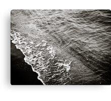 Waves on the ocean floor Canvas Print
