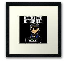 Hip Hop Funny Compton Rap Nintendo 64 Framed Print