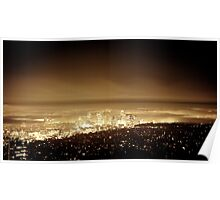 Los Angeles - it glows in the dark Poster