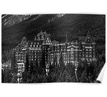Banff Springs Hotel Poster