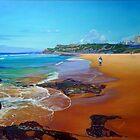 South Newcastle Beach, NSW Australia by Carole Elliott