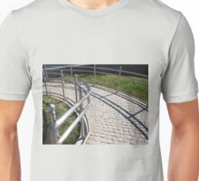 Ramp for physically challenged from the granite pavement  Unisex T-Shirt